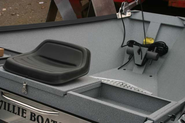 Tractor Seat 2 - Willie Boats