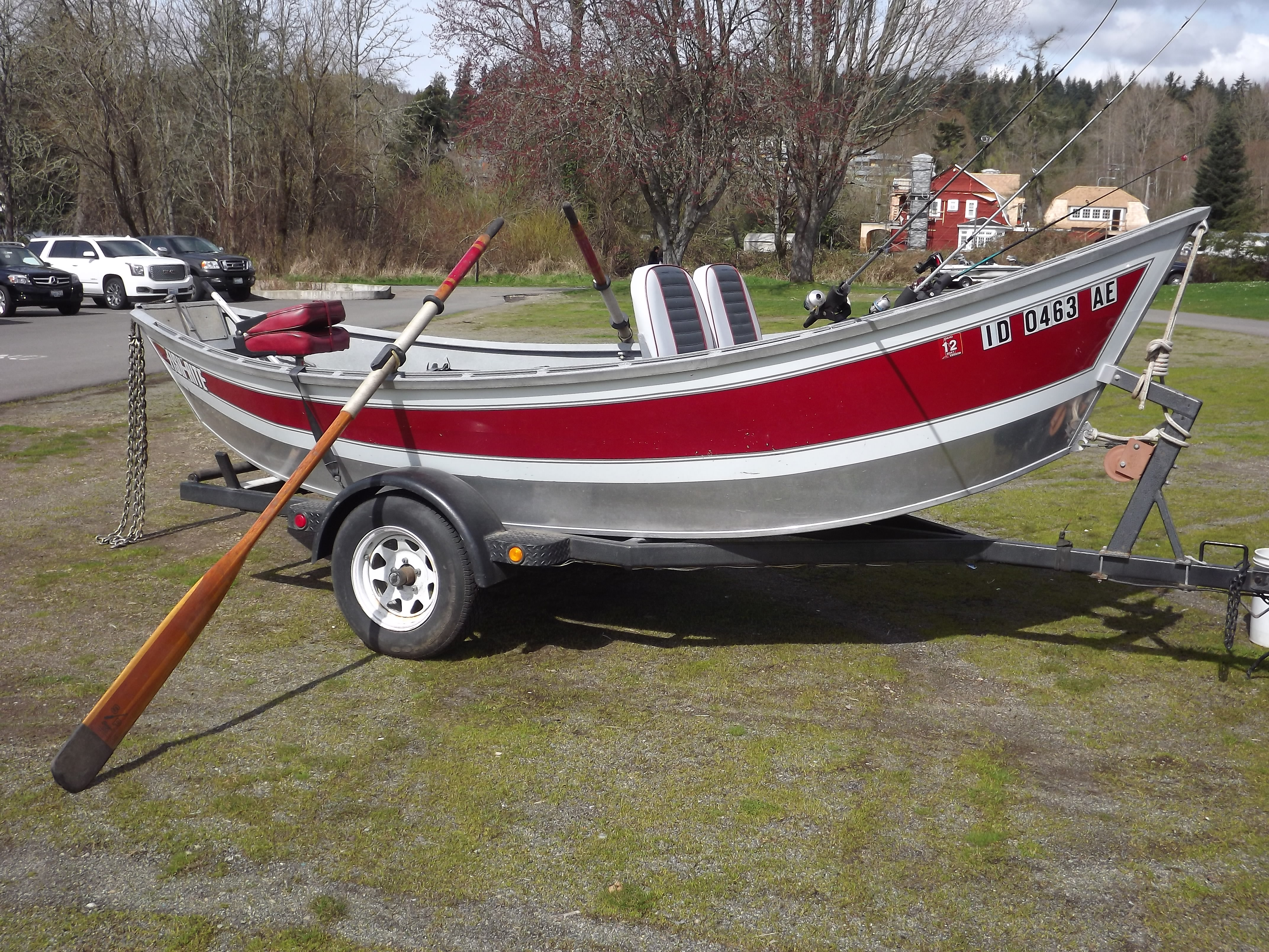 1993 16 Fish Rite Drift Boat 5 500 00 Willie Boats